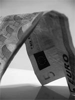 Fuenf Euro Geldschein